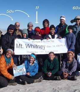 Group on Summit of Mt. Whitney