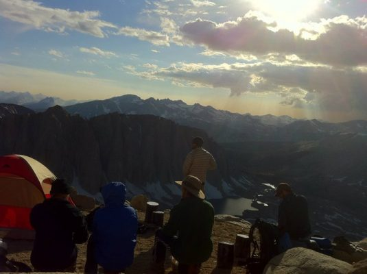 Camping near Mt. Whitney - Trans-Sierra Xtreme Challenge - Mt. Whitney Hike