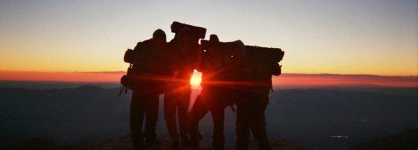 sunrise on mt whitney
