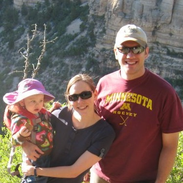 Picture of Andy Wagemaker and family in the Grand Canyon