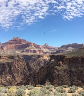 Grand Canyon view from Tonto Trail