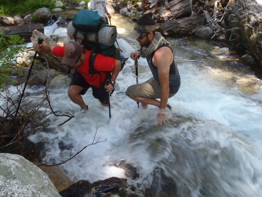 Barton Creek - Trans-Sierra Xtreme Challenge - Mt. Whitney Hike