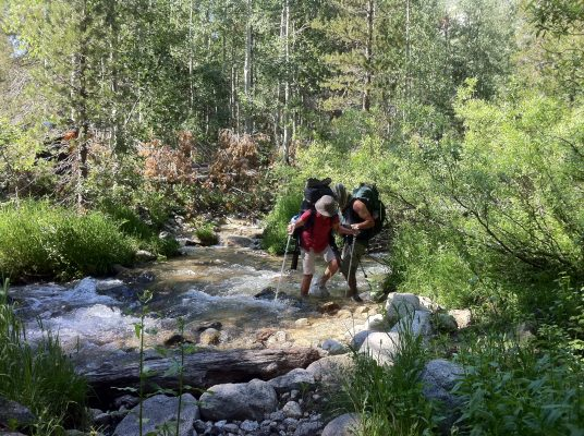 Cunningham Creek - Trans-Sierra Xtreme Challenge - Mt. Whitney Hike