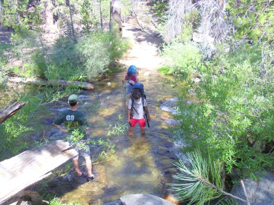 fergeson creek - on trans-sierra trail to Mt. Whitney