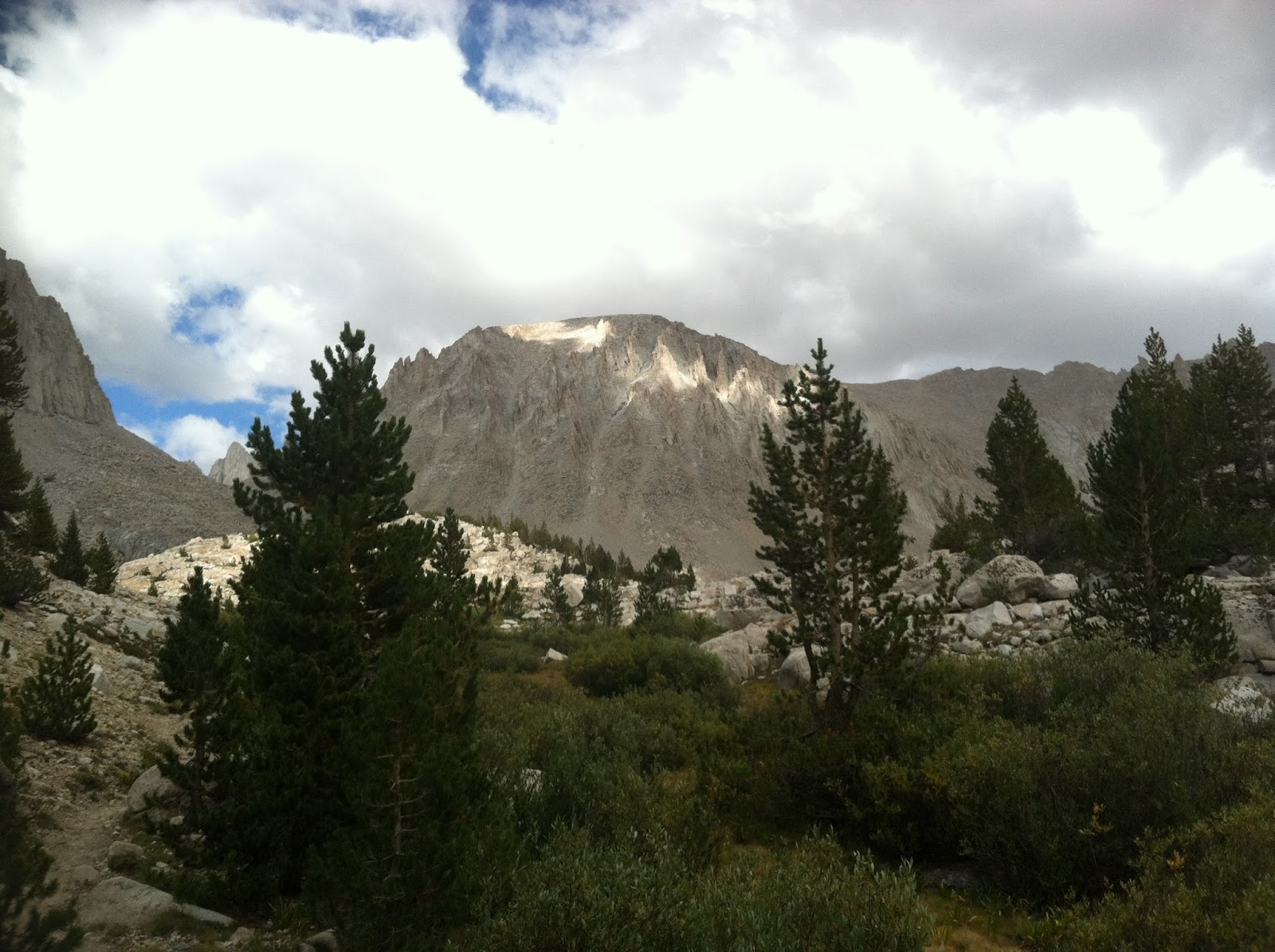 mt whitney from the west - trans-sierra xtreme challenge day 5
