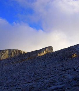 mt whitney summit in sight - trans-sierra xtreme challenge day 6
