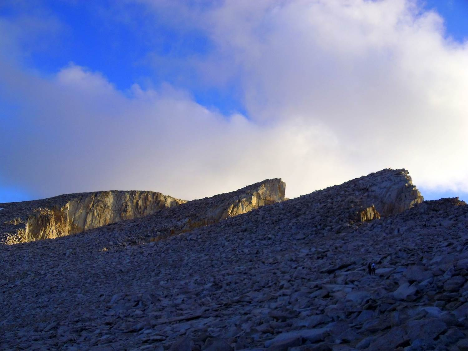 mt whitney summit in sight - trans-sierra xtreme challenge day 6