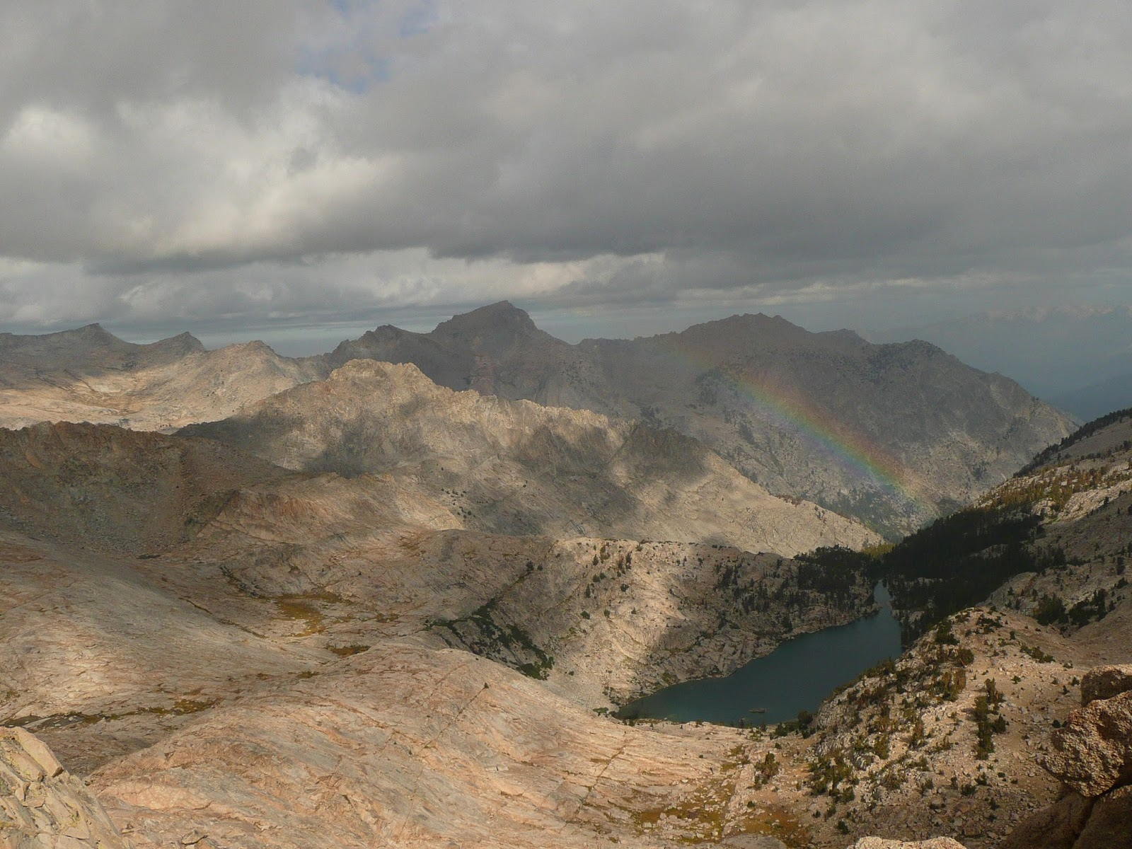 view from colby pass looking west - trans-sierra xtreme challenge day 4