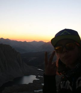 dylan reiss on his way to mt. whitney