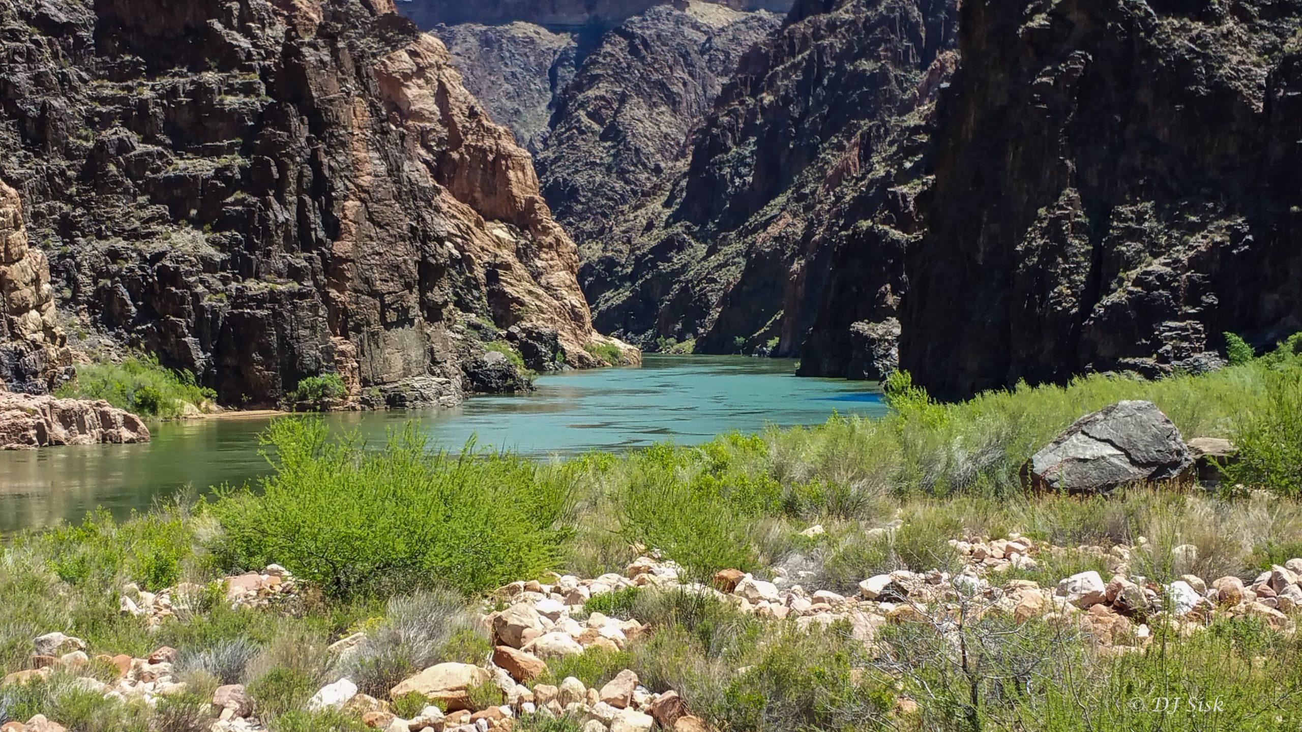 Colorado River at Bottom of Grand Canyon