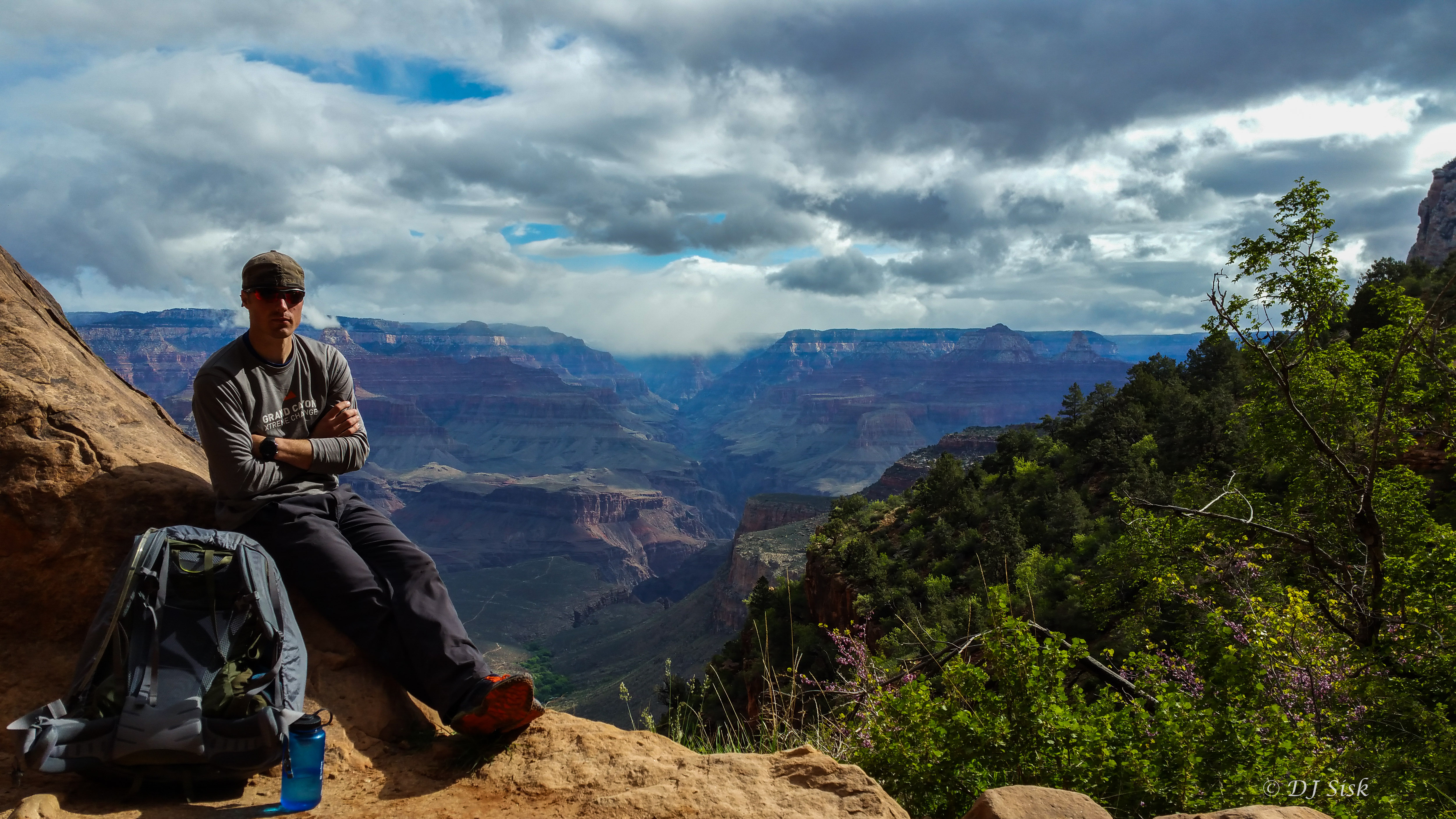 Soaking the View on the Grand Canyon Challenge