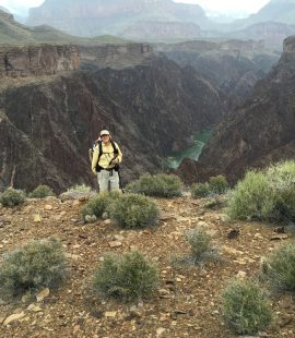 Tonto Trail view on Grand Canyon Challenge