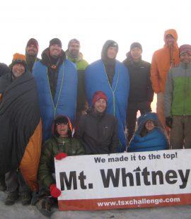 mt whitney summit trans-sierra xtreme challenge trek 2016