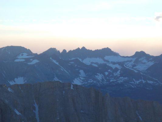 Kaweah Peaks - Trans-Sierra Xtreme Challenge - Mt. Whitney Hike