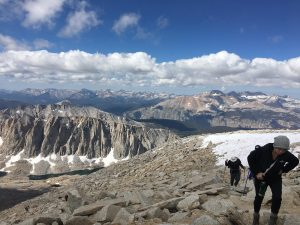 Hike of Mt. Whitney on Trans-Sierra Xtreme Challenge hike
