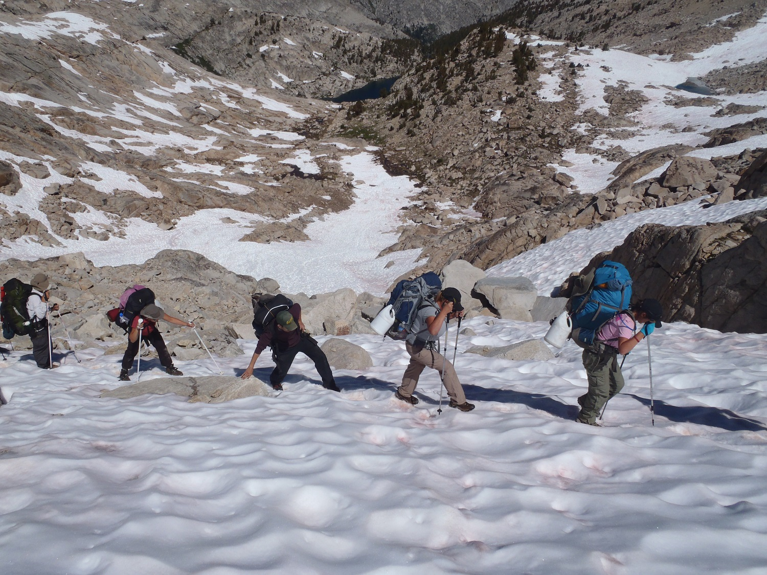 2011 - Trans-Sierra Xtreme Challenge, Colby Pass ascent