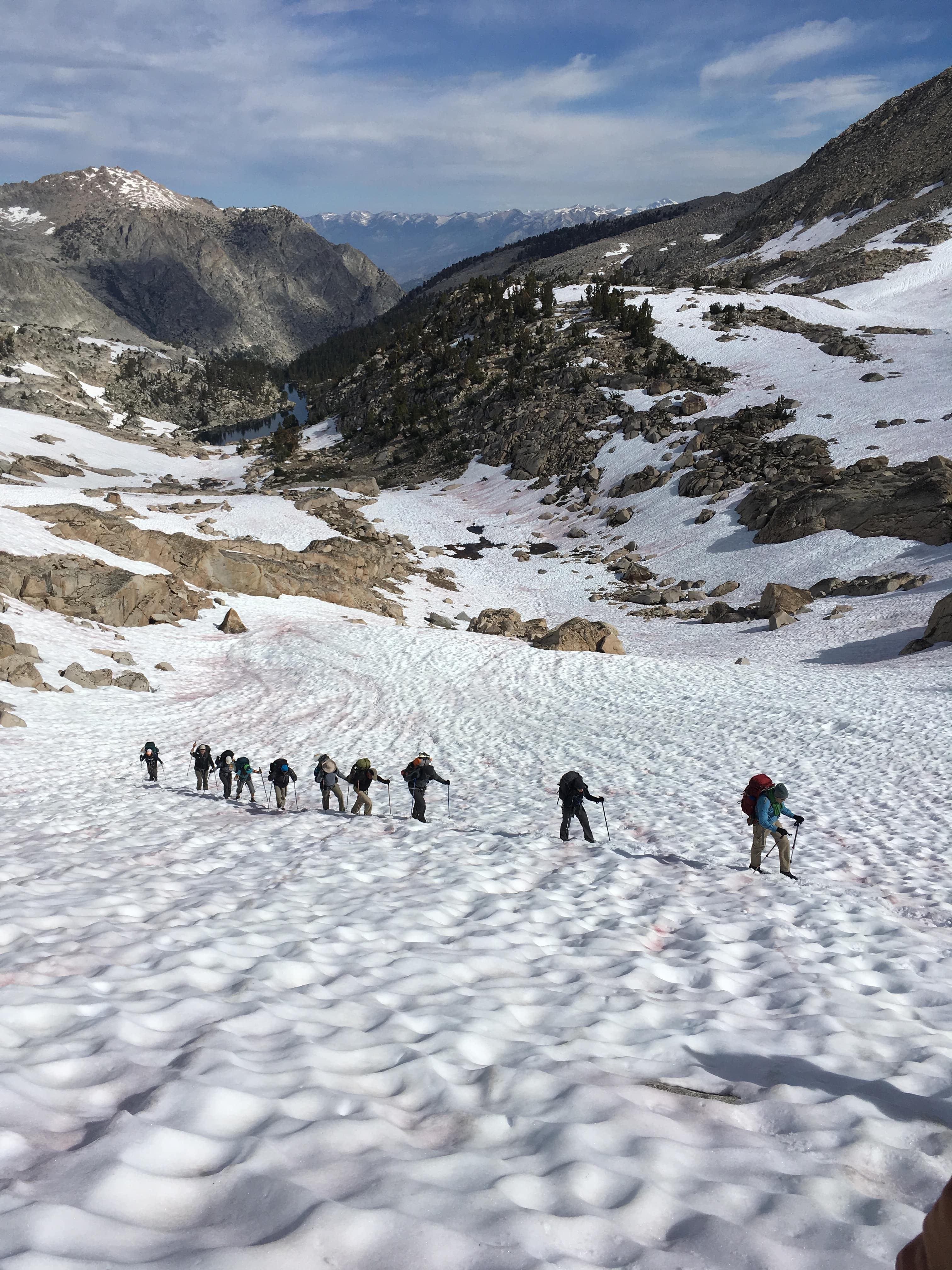 2017 - Trans-Sierra Xtreme Challenge, scaling Colby Pass