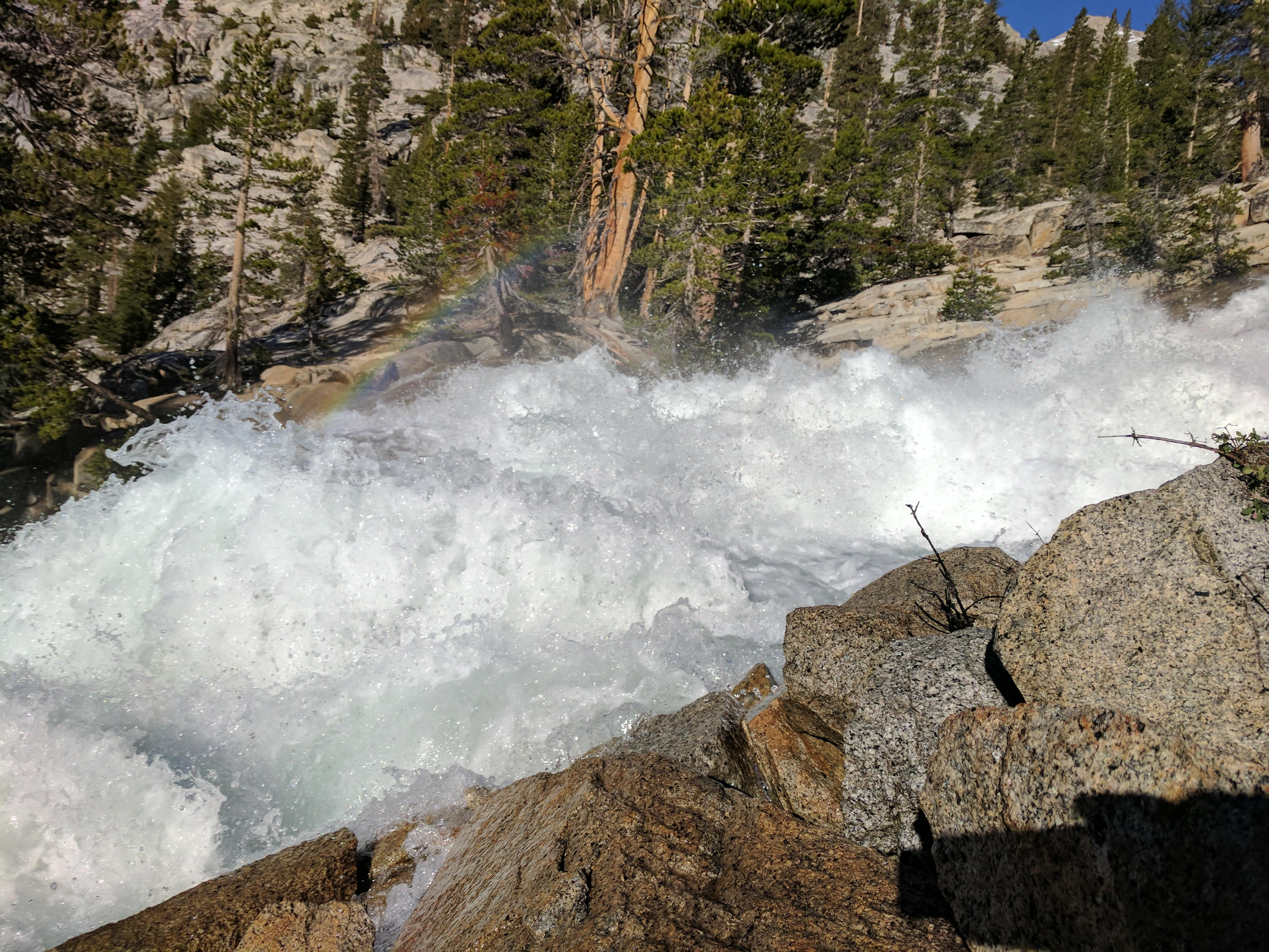 2017 - Trans-Sierra Xtreme Challenge, massive rapids on Kern Kaweah river drainage